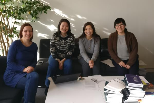 Photo of the GenTime project team