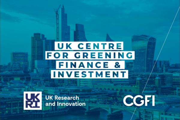 UK Centre for Greening Finance & Investment logo
