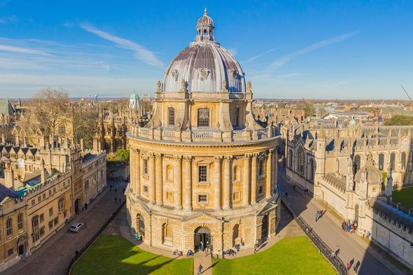 View of the Radcliffe Camera in Oxford