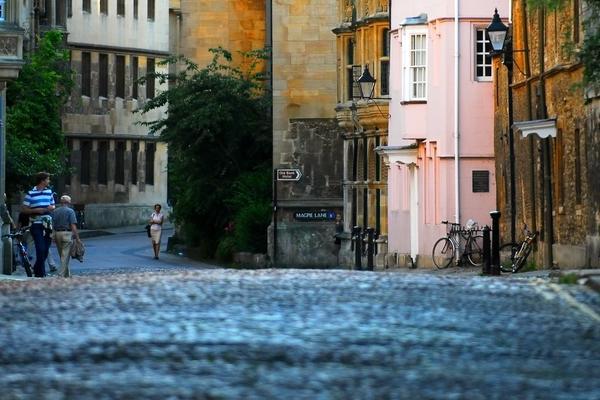 rd cobbled street
