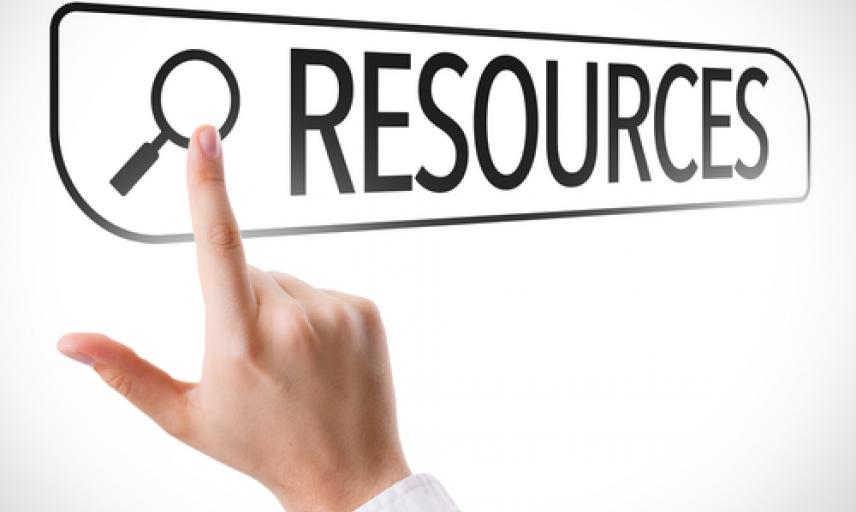 Resources search button