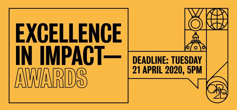Excellence in Impact Awards - nominations open