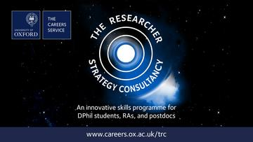the researcher strategy consultancy promo