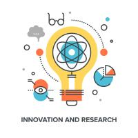 research and innovation large graphic